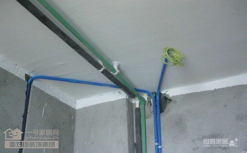 水电施工现场装修效果图 得意家居装修图库 得意家居网 -水电施工现场高清图片
