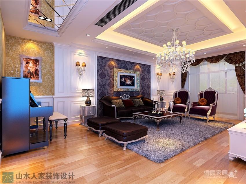 城投瀚城 四房两厅 装修设计高清图片