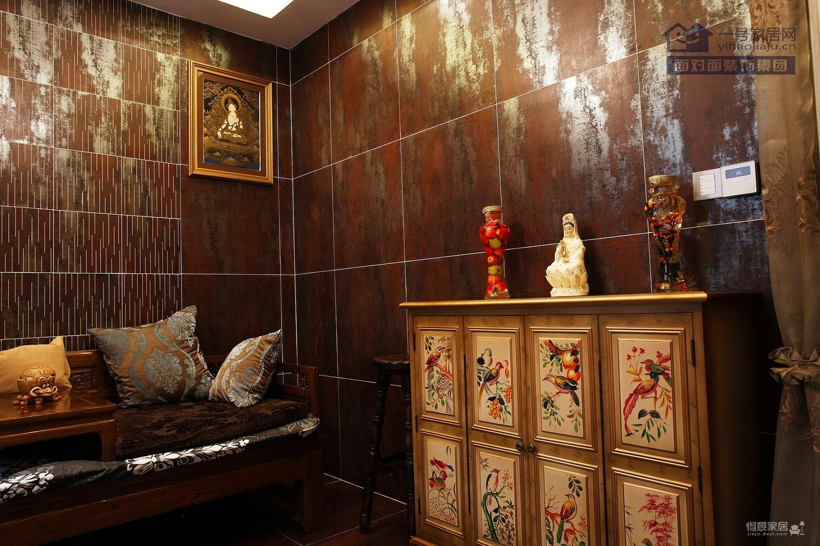 别墅-现代欧式-330平-客厅实拍图