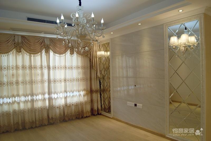 保利拉菲-84平-两室两厅-简欧风格装修效果图