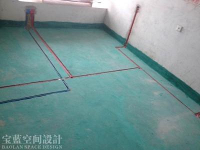 光谷新世界水电工地