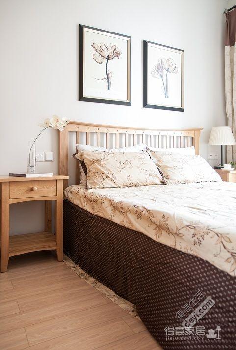 组-北欧原木生活-卧室装修效果图