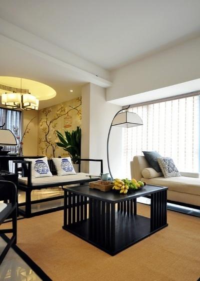 组-130平新中式-客厅