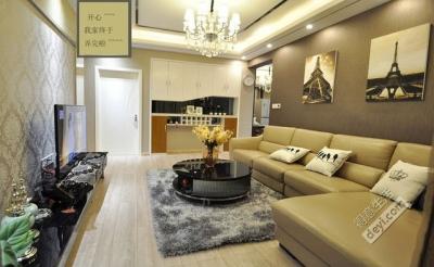 组-我的现代风三居室-客厅