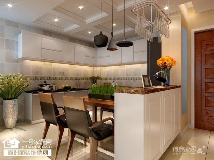 金地西岸故事 80平 现代简约 两室两厅装修效果图 得意家居装修图库 高清图片