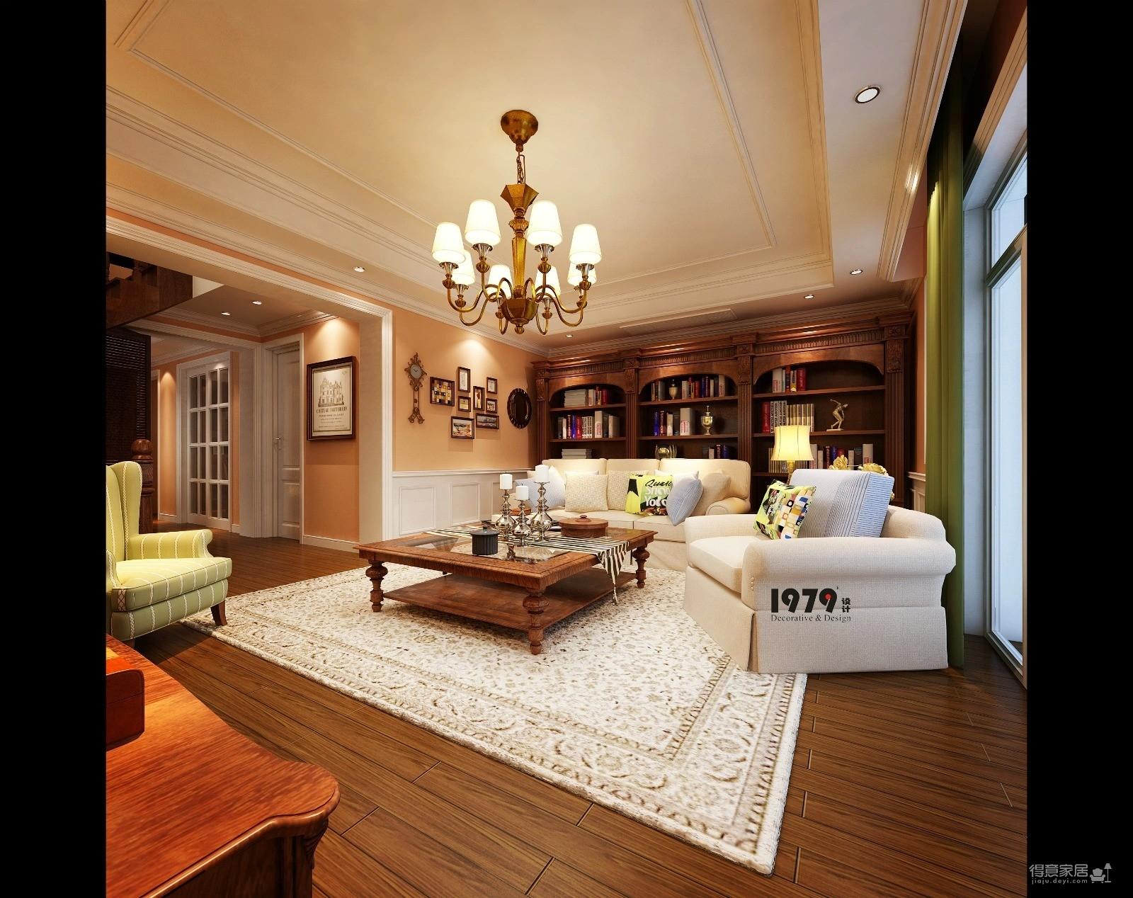 200平米复式---美宅·美生装修效果图_得意家居装修图片