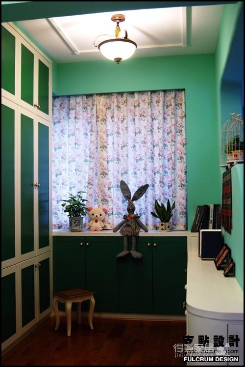 美式混搭 田园客厅集锦装修效果图 得意家居装修图库 得意家居网高清图片