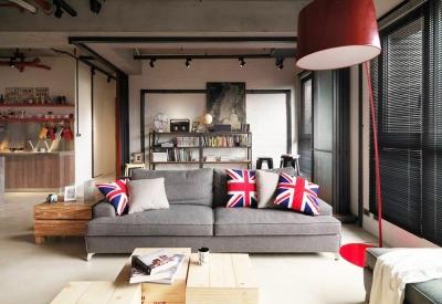 Loft后现代工业风公寓改造