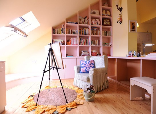 智能家电一居室榻榻米装修效果图_智能家电一居室图片