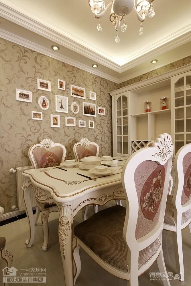 菩提苑-120平-现代简欧-三室两厅完工实景装修效果图图片