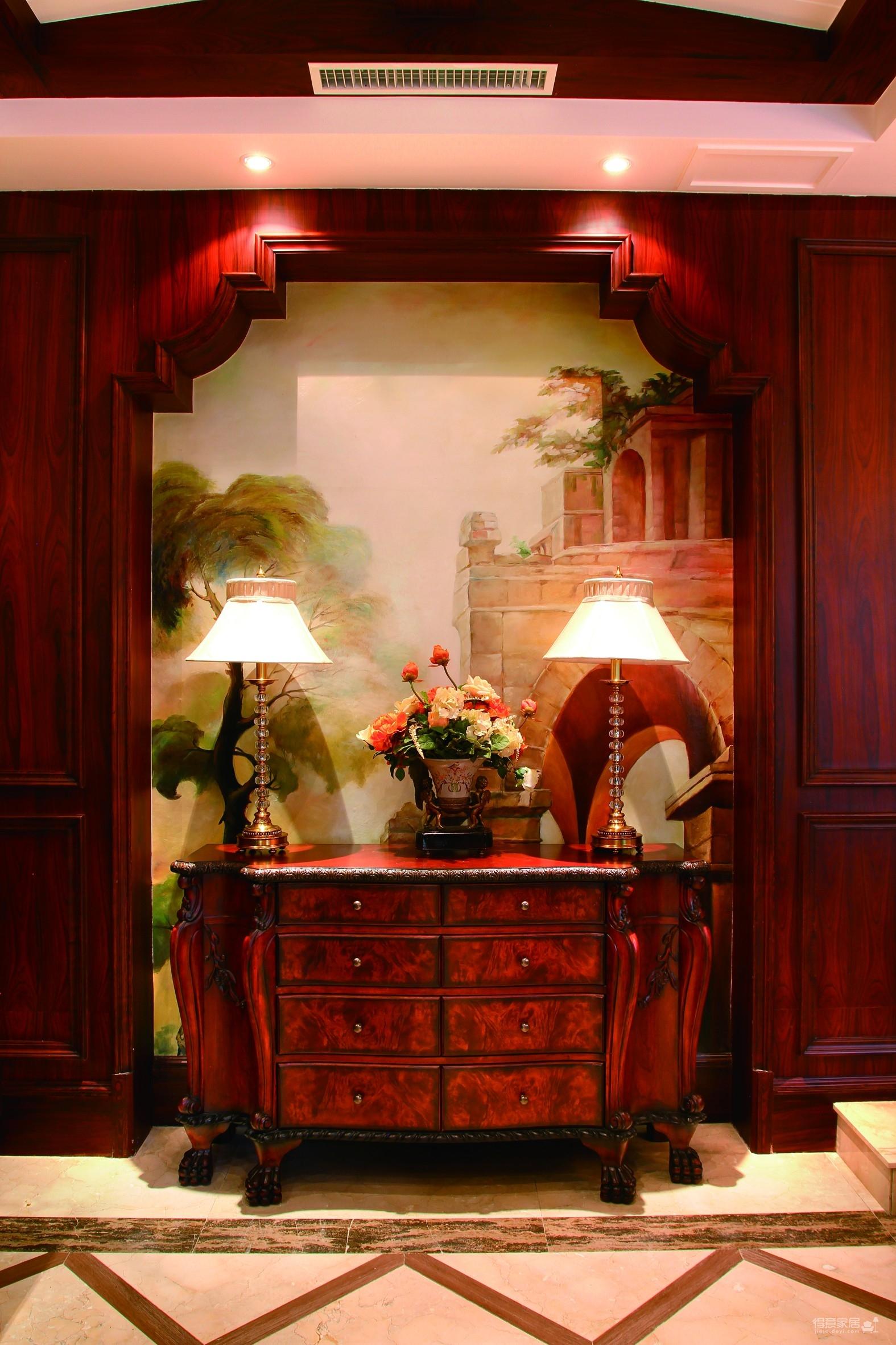 古典欧式,浪漫欧式装修护墙板系列