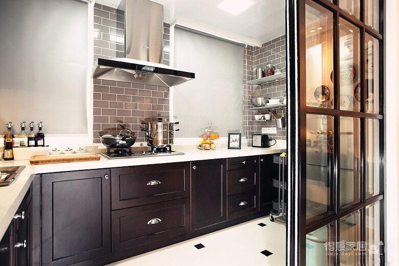 88平小三房清新美式风格效果图装修效果图 得意家居装修图库 得意家高清图片