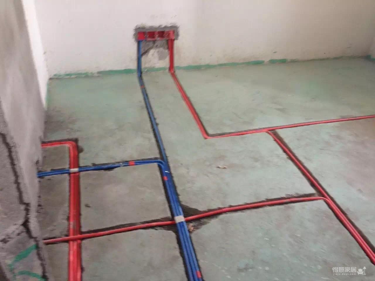 怡景康城水电施工图装修效果图