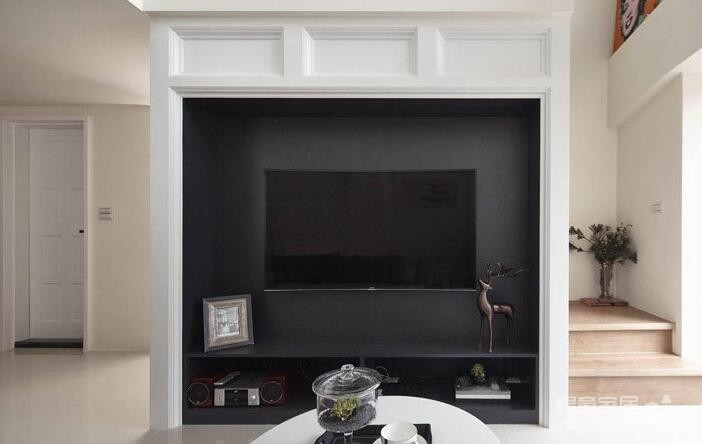 150平挑高欧式复式四居装修效果图