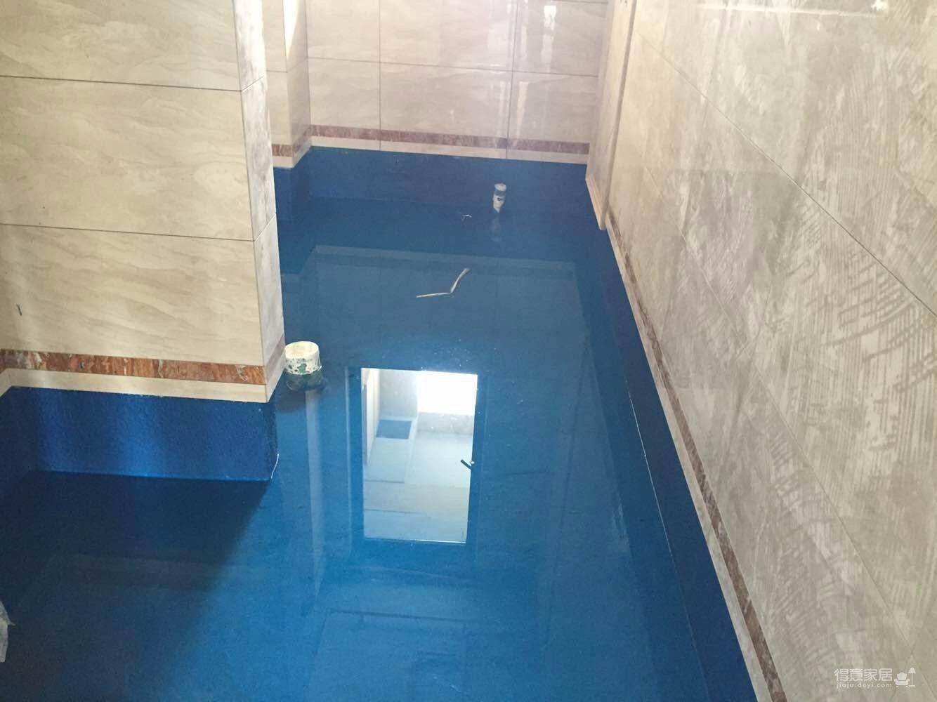 【业之峰工地直播】卫生间防水装修效果图_得意家居