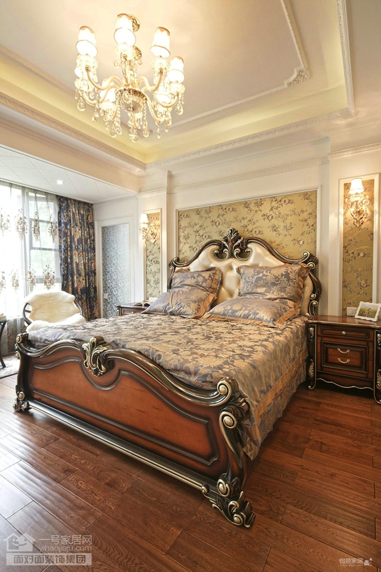 金地圣爱米伦385平复式洋房欧式风格装修效果图_得意