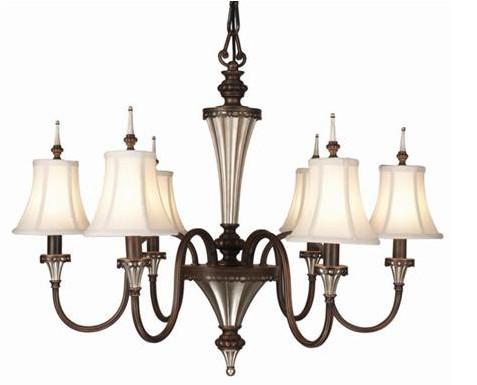 欧洲古典风格的吊灯,灵感来自古时人们的烛台