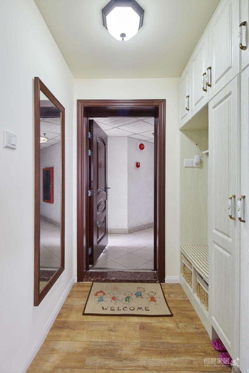 98平三居室美式田园风装修效果图 得意家居装修图库 得意家居网高清图片