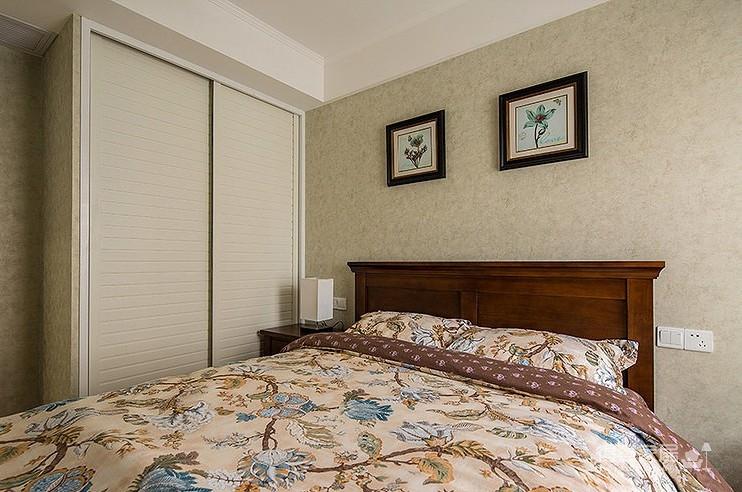 【中南六十七院】89平两居室小美风装修效果图_得意图片