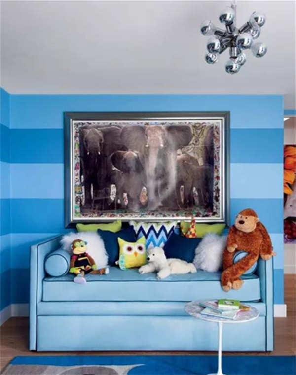 儿童房之疯狂动物城,快乐色彩