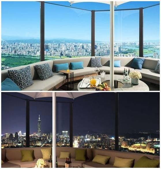周杰伦豪宅曝光884平1.4亿 可饱览台北101夜景图片