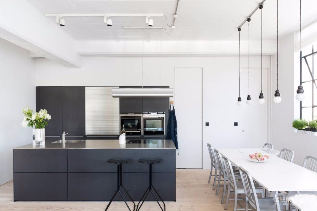 简约工业风格loft公寓装修效果图_得意家居装修图库