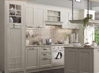 德利凯希武汉整体厨房橱柜定做 欧式设计北欧风格定制模压厨柜