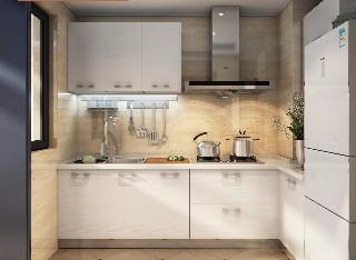 武汉定制 爱格板现代简约拉篮调味篮厨房橱柜整体定做石英石台面