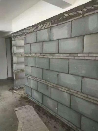 【葛洲坝华府】砌墙工艺