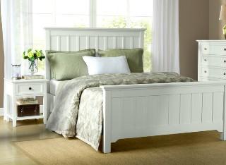 HH白蜡木实木床简美1.5米1.8米床