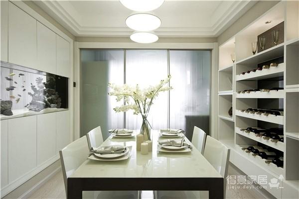 冷色調現代簡約風格裝修效果圖_得意家居裝修圖庫