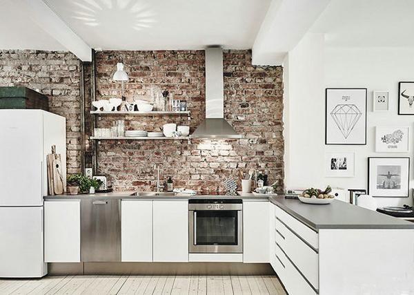 这些厨房背景墙的设计真心上档次
