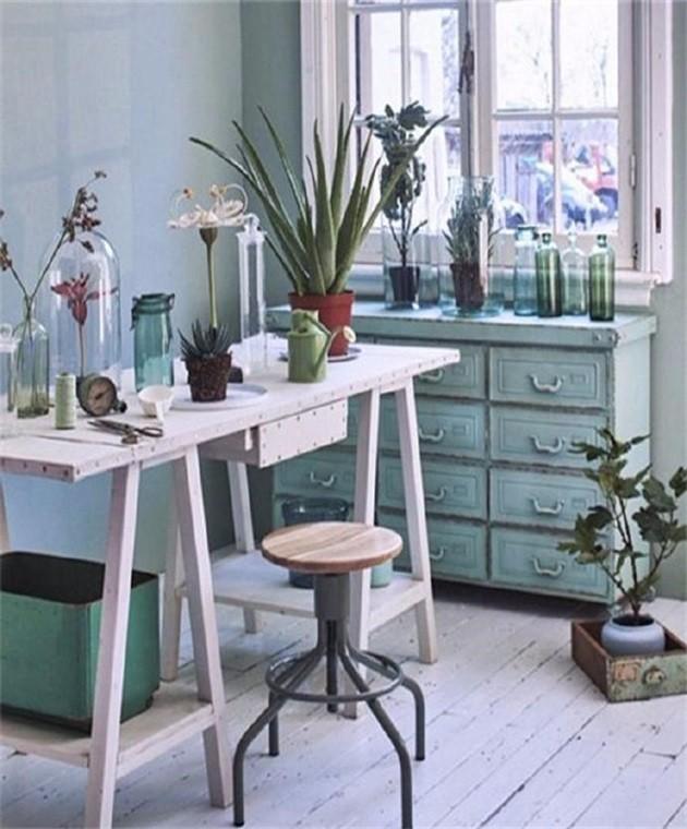 夏天,藤编和植物才能给家一丝清凉