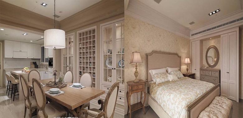 奶茶色美式风格,华丽又高雅的古典风格
