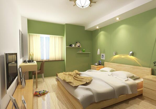 知识导读:卧室是睡眠休息的功能空间。当白天的喧嚣慢慢褪去,处在卧室中,会对色彩比较敏感,比较舒服的颜色可以有助于加快情绪的稳定,而有些颜色会导致易怒、压抑、神经质等等情绪问题。卧室墙面是大面积使用颜色的部分,因此其颜色要合适搭配。当然卧室的颜色也可以根据个人喜好选择。
