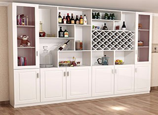 超值现代风格豪华型定制酒柜