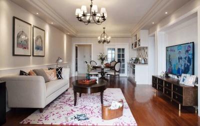102平现代美式风,快看,你喜欢的美式家!!