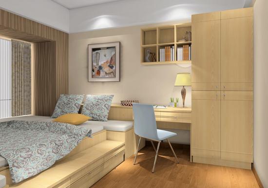 小卧室如何合理布置衣柜空间
