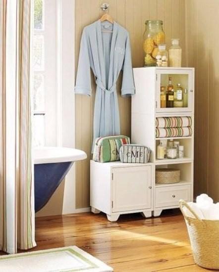 简欧风格浴室柜组合 小清新卫浴装修