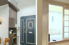58平小居室,化身颜值收纳兼备的工业风图_2
