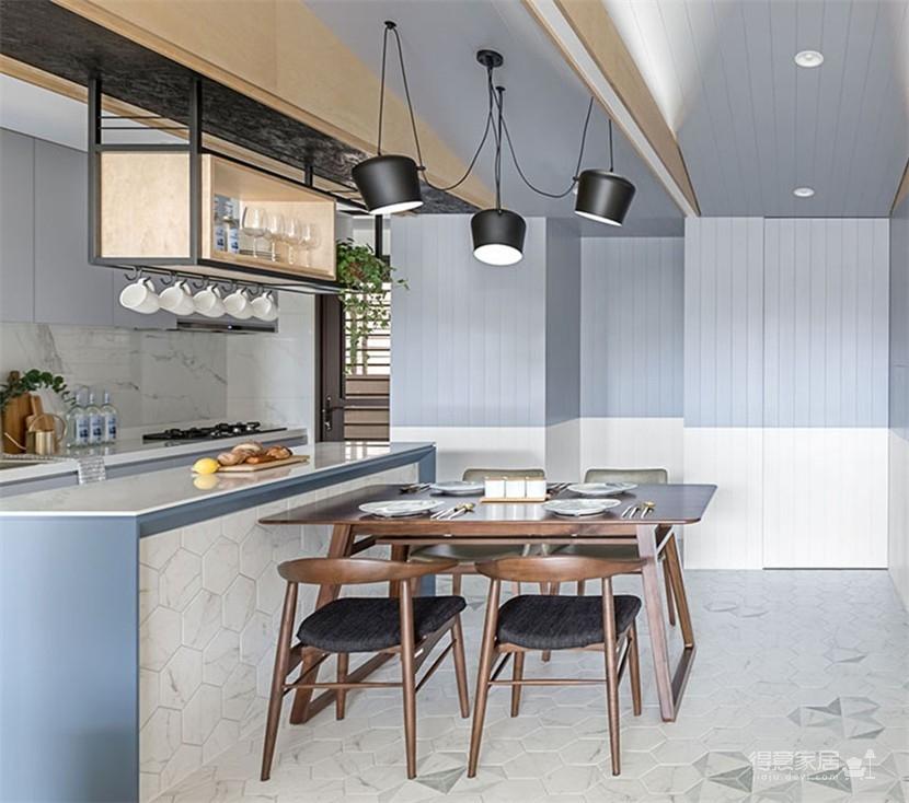 126㎡公寓 北欧融合澳洲自然风