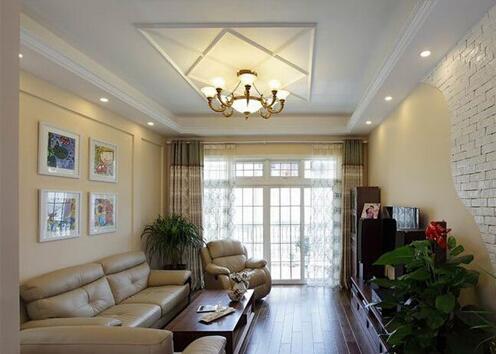 客厅吊顶效果图分享 3种常见的吊顶安装方法